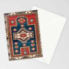Fakhralo Kazak  Southwest Caucasus Niche Rug Print Stationery Cards
