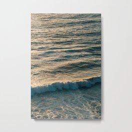 Waves, La Jolla Metal Print