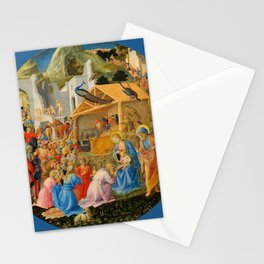 "Fra Angelico and Fra Filippo Lippi ""Adoration of the Magi"" Stationery Cards"