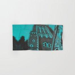 Turquoise Stone Church. Hand & Bath Towel