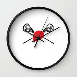 EPA Lacrosse Wall Clock