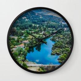 Dreamy view at Saittas Trimiklini Wall Clock