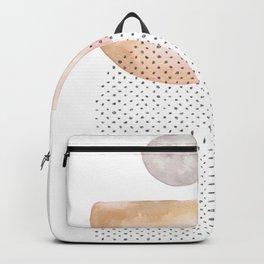 Watercolor geometric Backpack