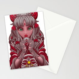 Meek Miko Shrine Maiden Stationery Cards