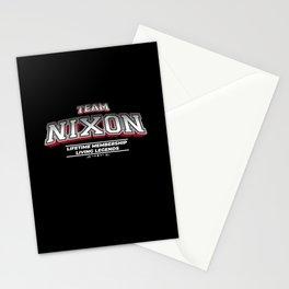 Team NIXON Family Surname Last Name Member Stationery Cards