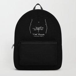 Vulvanatomy (inverse) Backpack