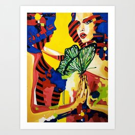"""Reflections"" Art Print"