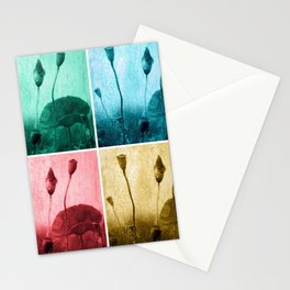 Poppy Art Image Stationery Cards