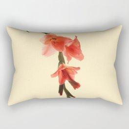 Serena Gladiolus Botanical Rectangular Pillow