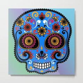 Sugar Skull #9 Metal Print
