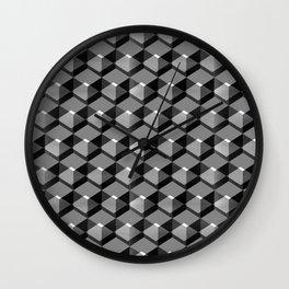 Cube Series #4 Wall Clock
