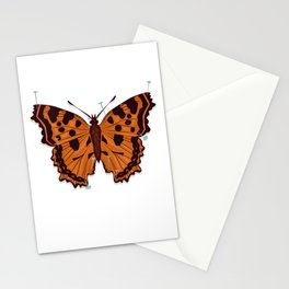 Butterfly: Pinned Down Stationery Cards