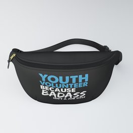 Youth volunteer job gifts Fanny Pack