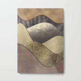 space 3 art #abstract #modernart Metal Print
