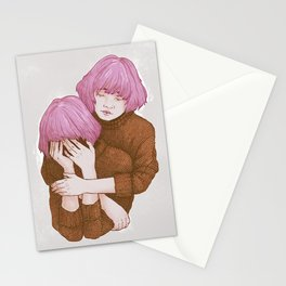 Be nice to yourself Stationery Cards