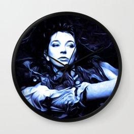 Kate Bush - The Ninth Wave - Pop Art Wall Clock