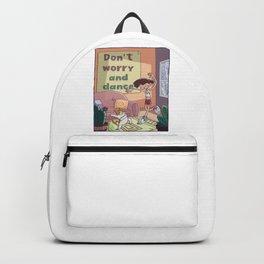 Dancing cat Backpack