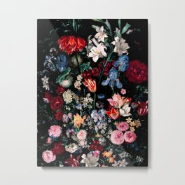 Midnight Garden XVII Metal Print