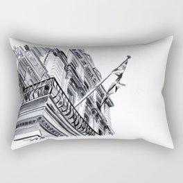 Travel London Watercolour Sketch Rectangular Pillow