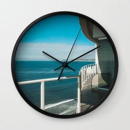 Balcony View Wall Clock