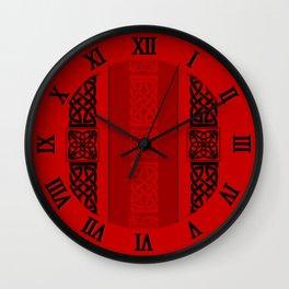 Viking red II Wall Clock