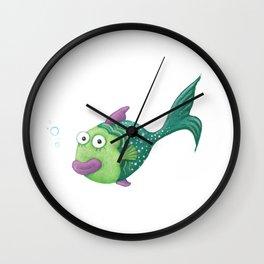 Funny Fish Wall Clock