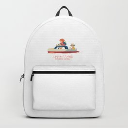 Ponyo: Drift Away Backpack