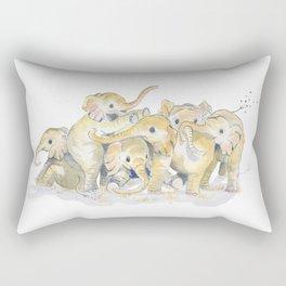 Baby Elephants Rectangular Pillow