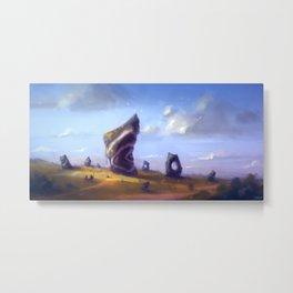 Megaliths Metal Print