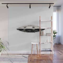 Flying Saucer - UFO Wall Mural