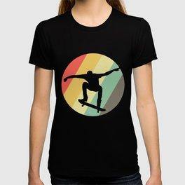Skateboard Retro Vintage Skateboarding Skate Gift T-shirt