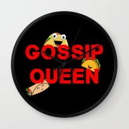 Gossip Queen Wall Clock