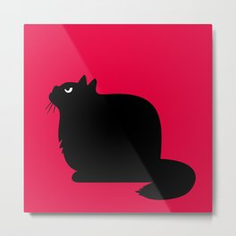 Angry Animals - Fat Cat Metal Print