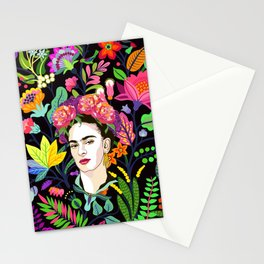 Frida in Bloom Stationery Cards