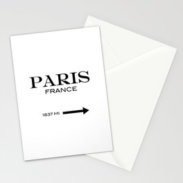 Paris - France Stationery Cards