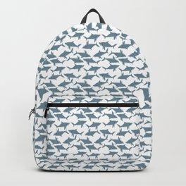 Great White Shark Pattern Backpack