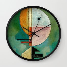 Kandinsky Upward Abstract Art Painting Wall Clock