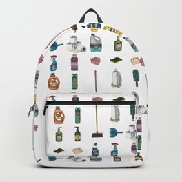 Tiny Cleaning Supplies Backpack