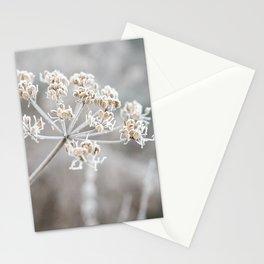 Frosty flower Stationery Cards