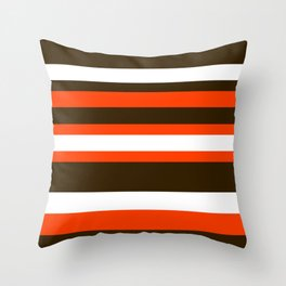 Cleveland Colors Throw Pillow