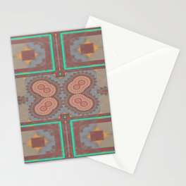 Pallid Minty Pattern 2 Stationery Cards