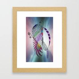 fantastic geometrical forms -7- Gerahmter Kunstdruck