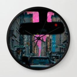 driving  Wall Clock
