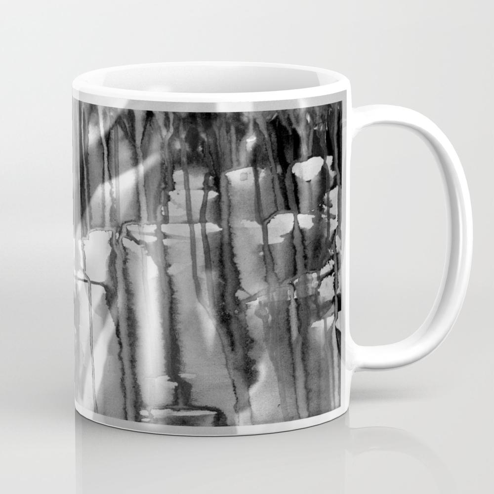 Angel Of Cups - Black 8 Mug by Artito MUG7796835