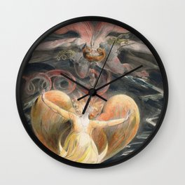 The Great Red Dragon and the Woman Clothed with the Sun (1805) Wall Clock
