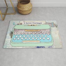 Typewriter #8 Rug