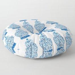 Blue and White Ginger Jars  Floor Pillow