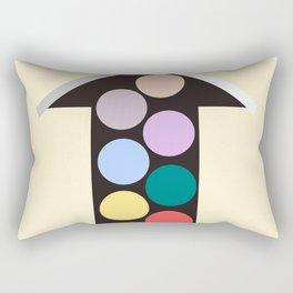 Arrow Up Rectangular Pillow