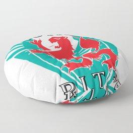 """""""ROYAL P.I.T.A."""" Floor Pillow"""