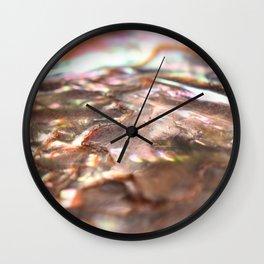 Abalone Shell Wall Clock